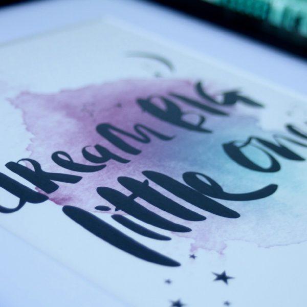 Dream Big_Black 04_Personalised