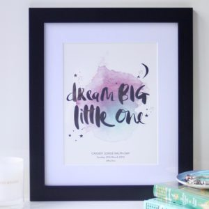 Dream Big_Black_Personalised