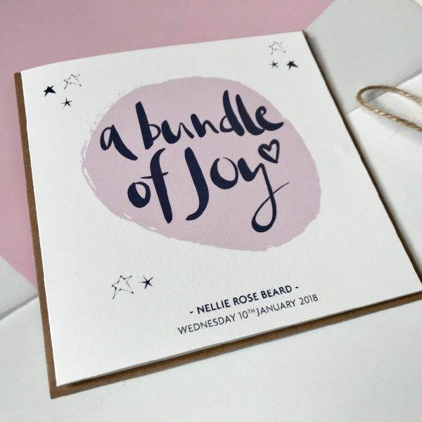 a-bundle-of-joy-card-pink-personalised