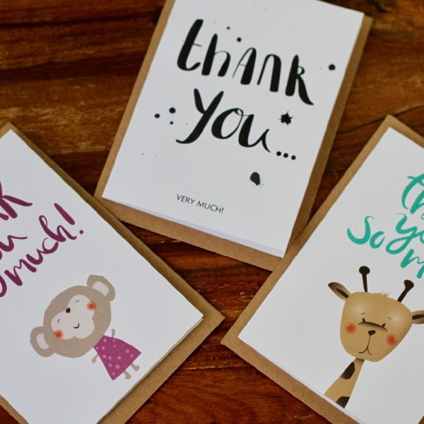 Thank you all cards