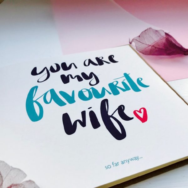 Favourite wife card close